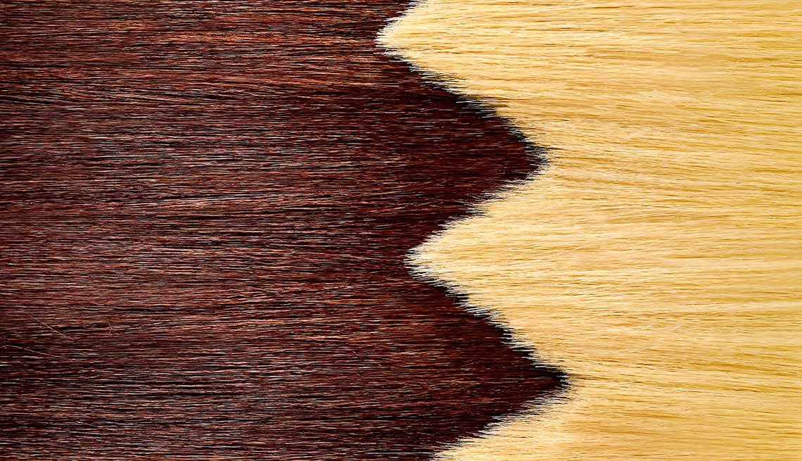 Extend hair color touch ups.