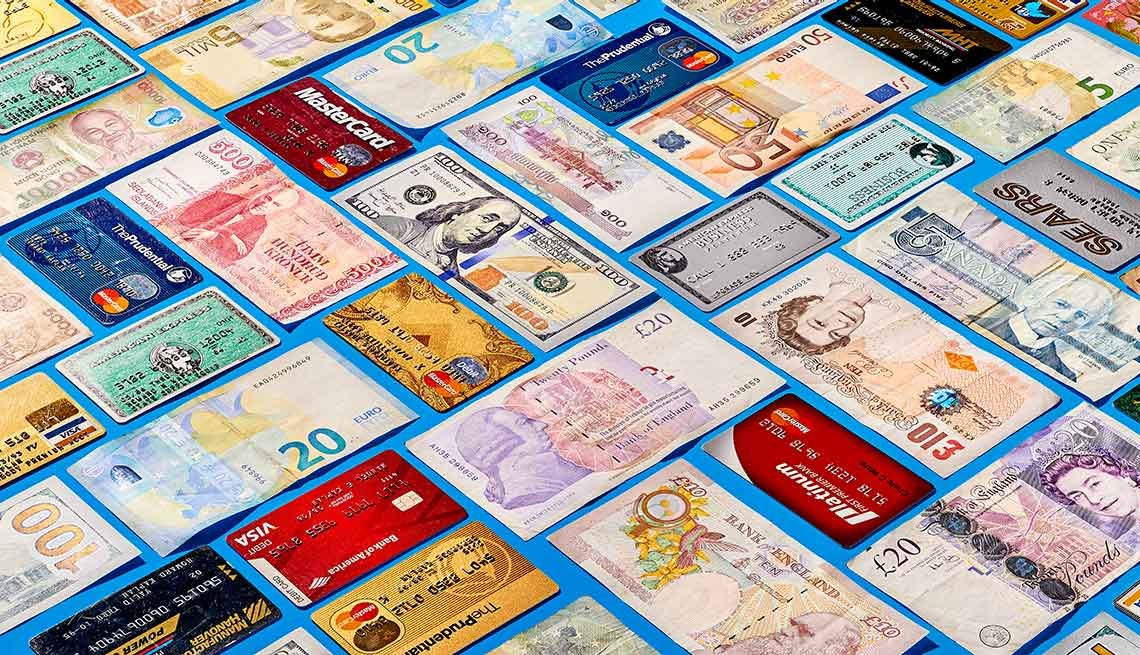 Avoid cash exchange. On average, at a bank you lose 8 percent when you change dollars to a foreign currency at currency exchange booths, you lose around 15 percent.
