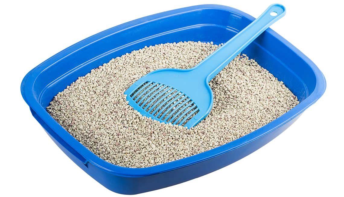 Household items with multiple uses - kitty litter