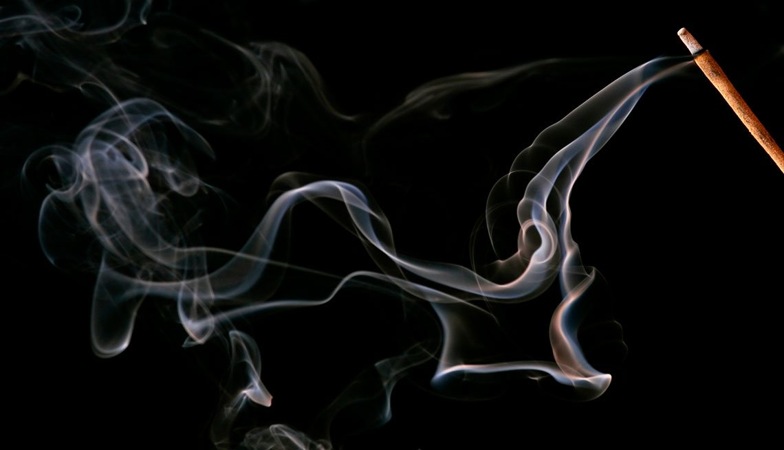 7 Tips to Save Big This Winter - smoky incense stick