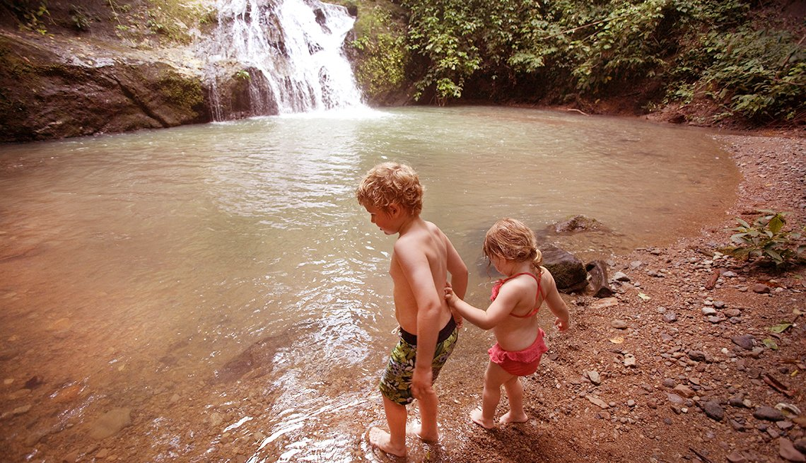 Fun Summer Things To Do With Grandkids - Local Swimming Holes