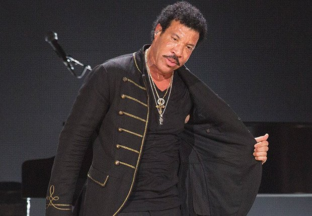 Lionel Richie. The Internal Revenue Service slapped a $1.1 million lien on the recording artist in 2012 for failing to pay income taxes in 2010.