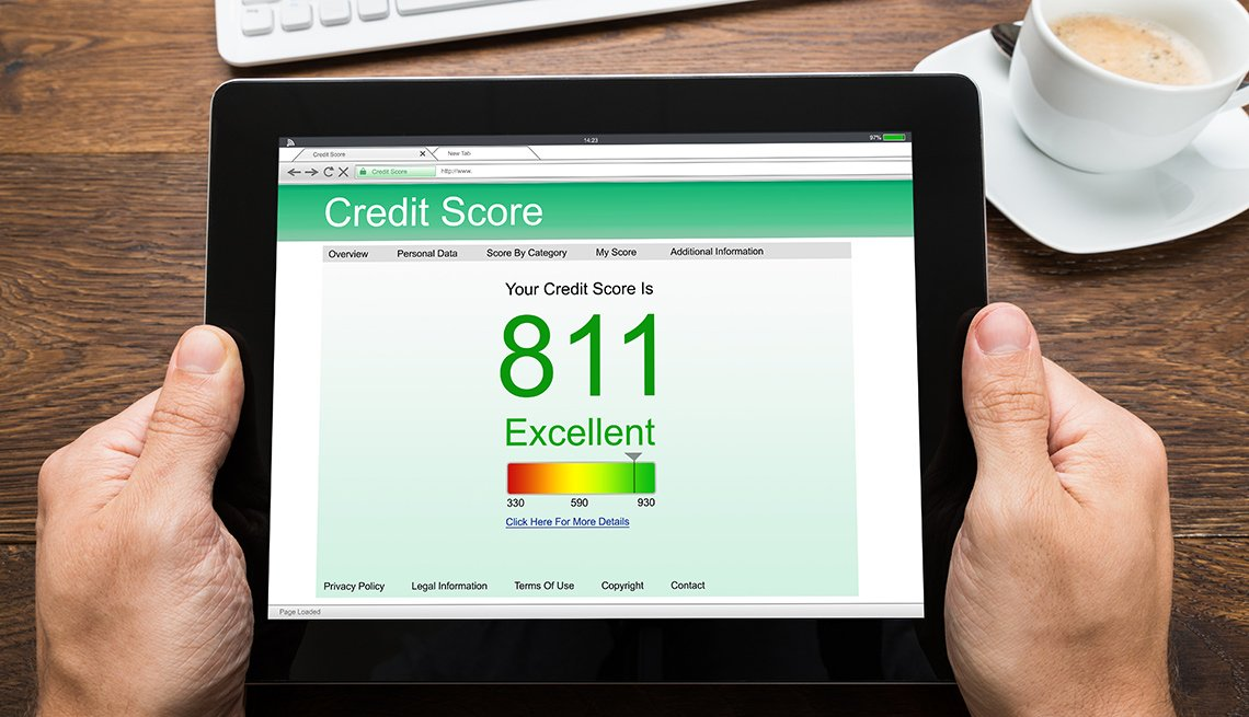 Credit Score Changing