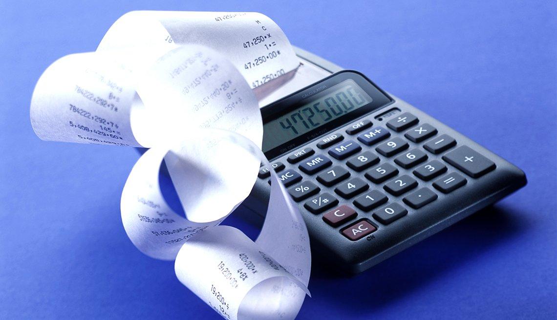 Máquina calculadora - Errores comunes con las tarjetas de crédito