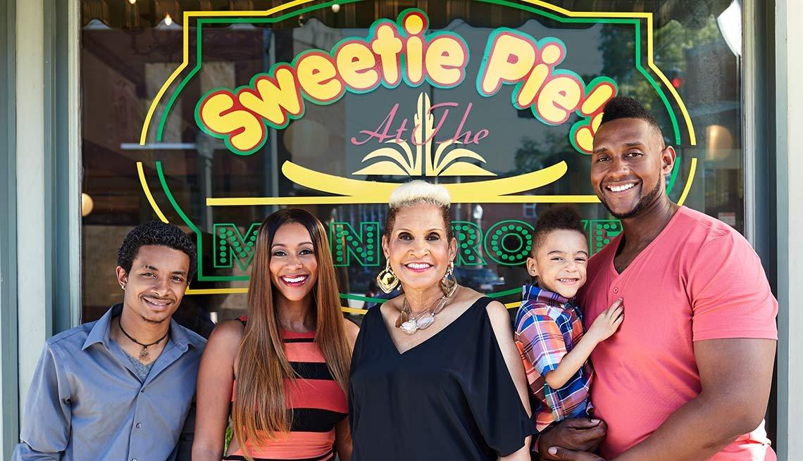 Robbie Montgomery' restaurant Sweetie Pie