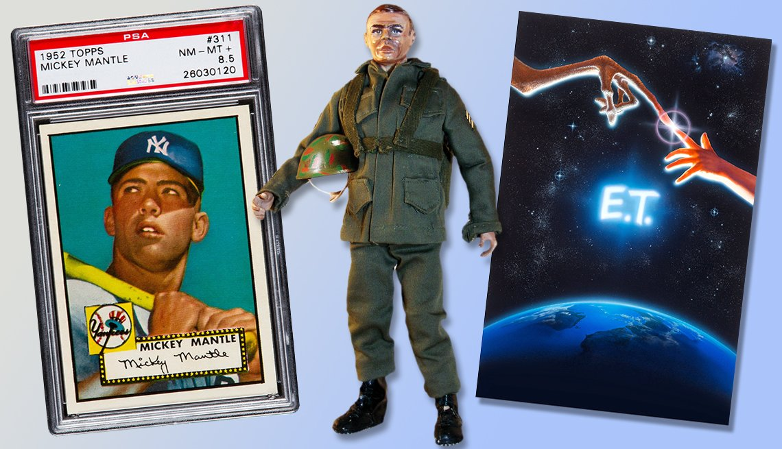 Five Collectibles that brought big money