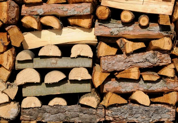 Firewood stacked into a pile (Adrian Assalve/Istockphoto)