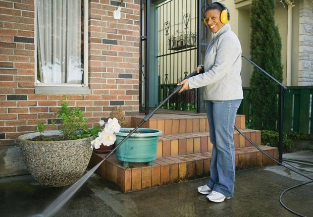 Rent a power washer.  $100 or less DIY home fixes. (Design Pics Inc/Alamy)