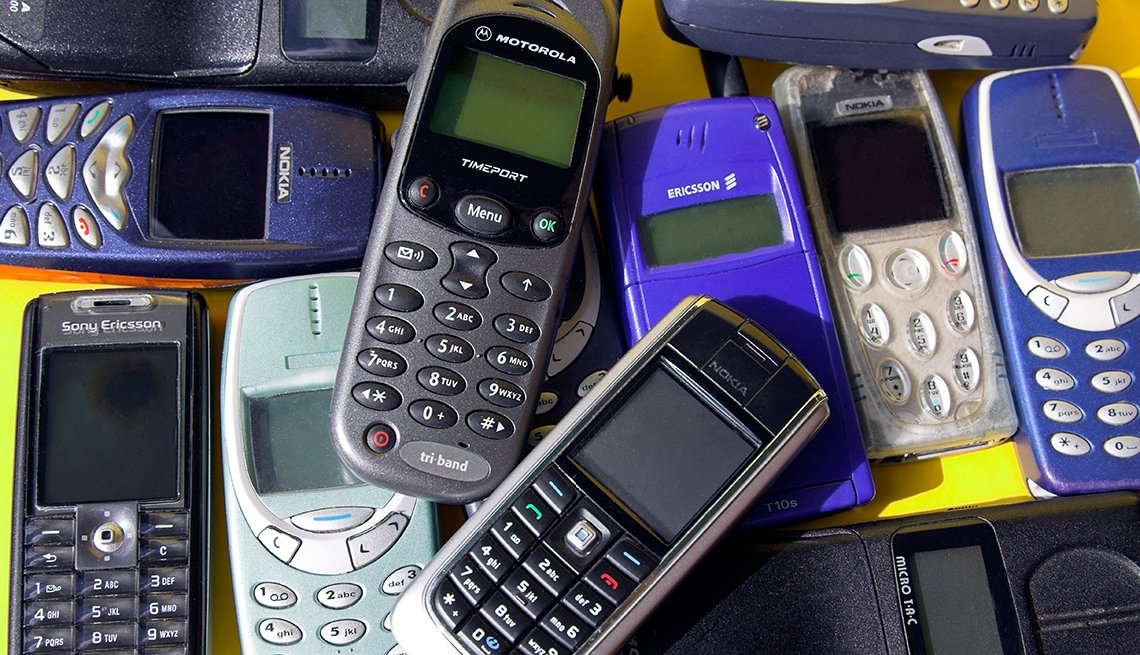 Pile of Old Cellphones, Common Spending Regrets