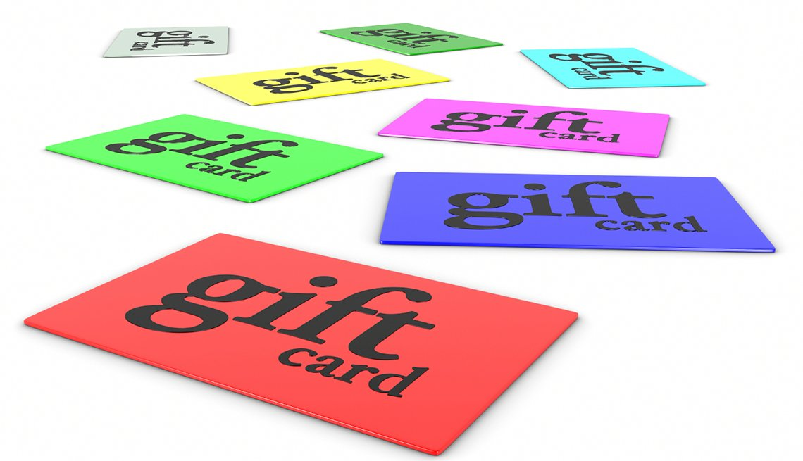 Scams to Avoid - gift cards