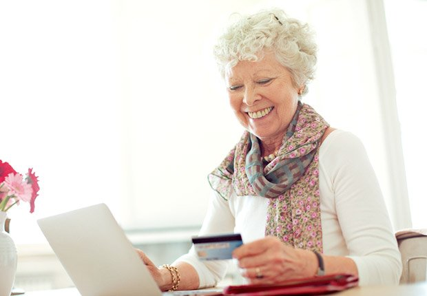 Woman Shopping Online, Anatomy of an Identity Theft