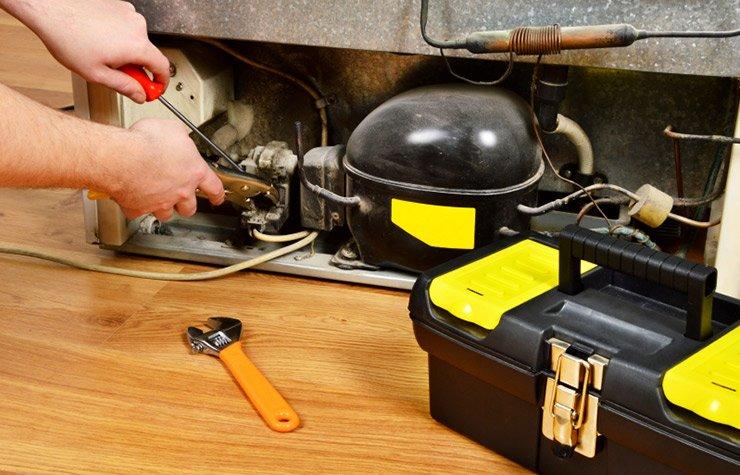 Repairing a refrigerator