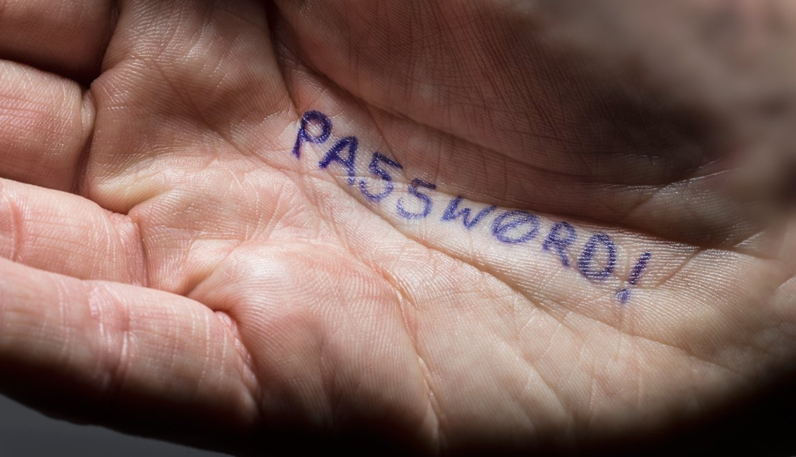 new password protections