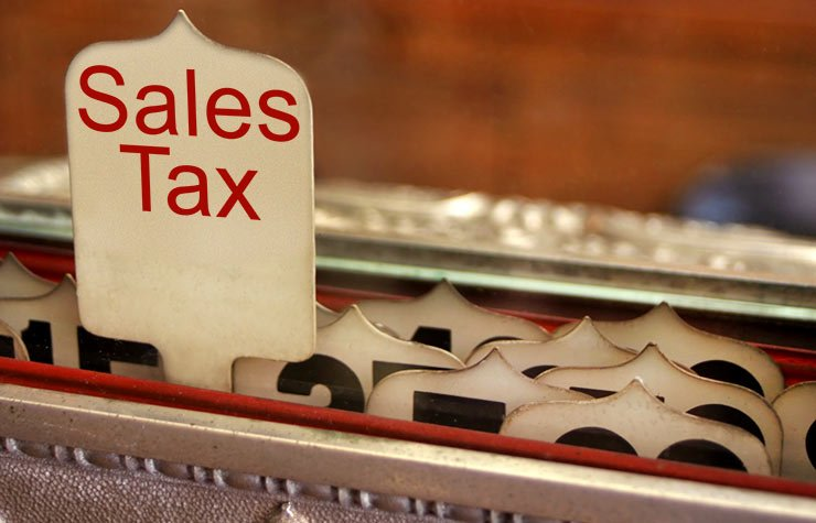 Sales tax on a cash register, Quiz: State taxes