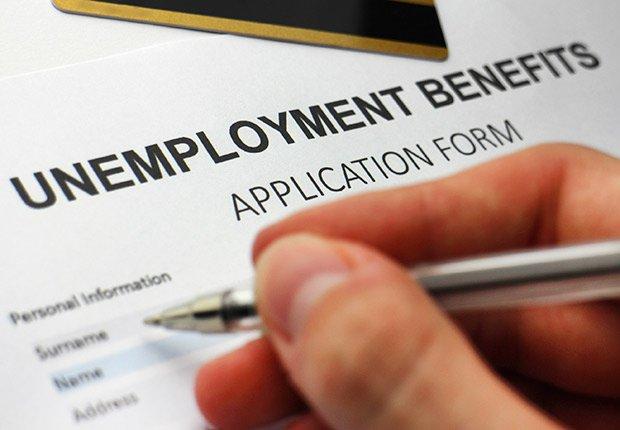 Writing off job hunt expenses, Unemployment Compensation