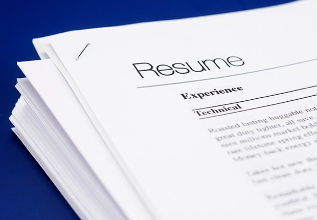 Writing off job hunt expenses, printing resume