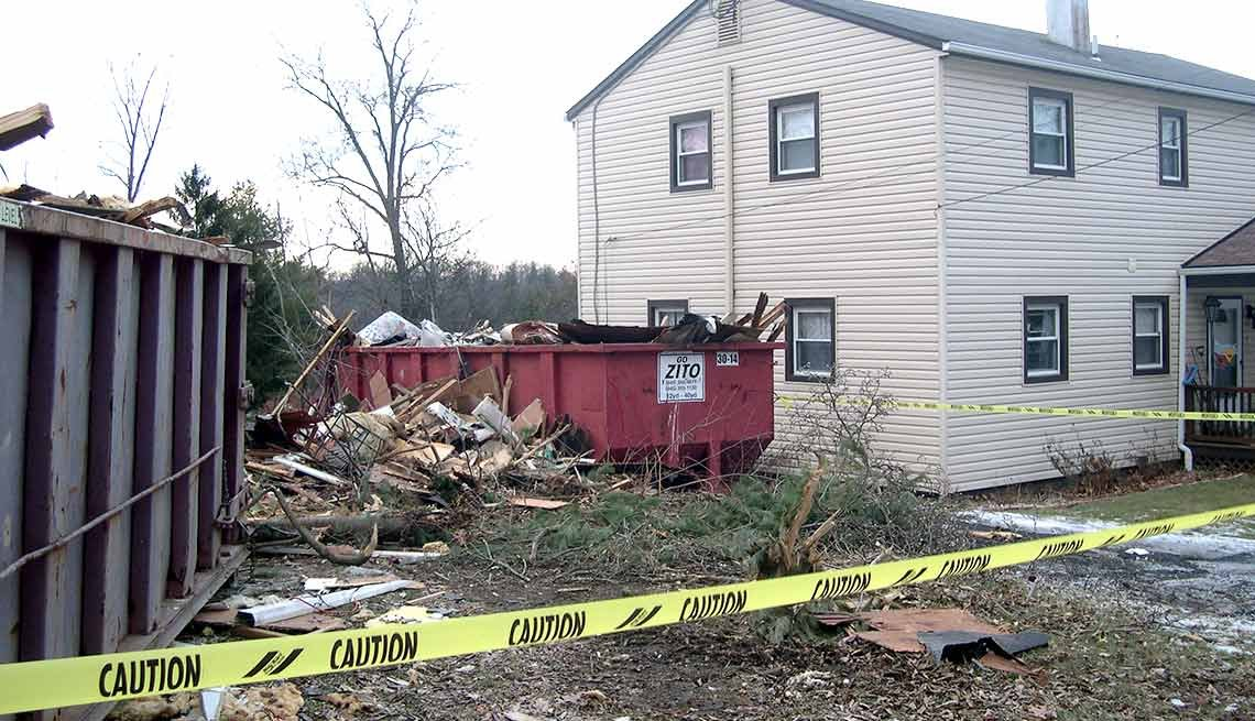 Husband Demolishes House, Middletown, NY, That's Outrageous