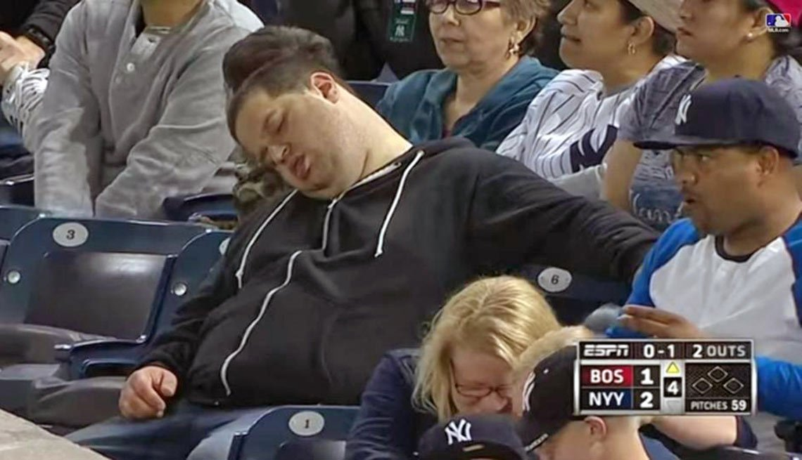 Andrew Rector, sued ESPN sleeping at Yankee Stadium, That's Outrageous