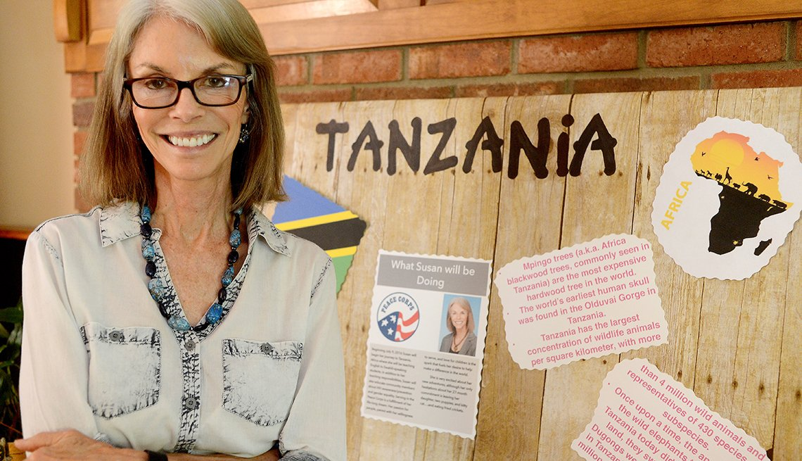 Susan Schneider, 65, is leaving South Carolina next month to join the Peace Corps.