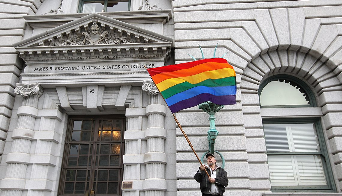 Milestones in Gay History in America - court challenges