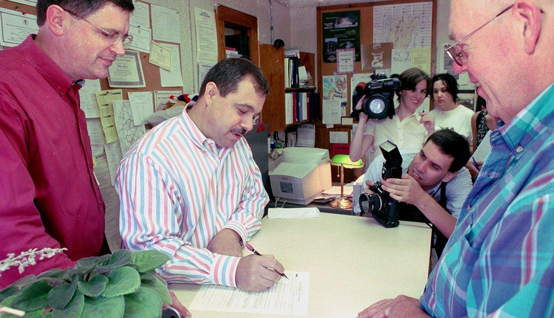 Milestones in Gay History in America - Vermont Civil unions