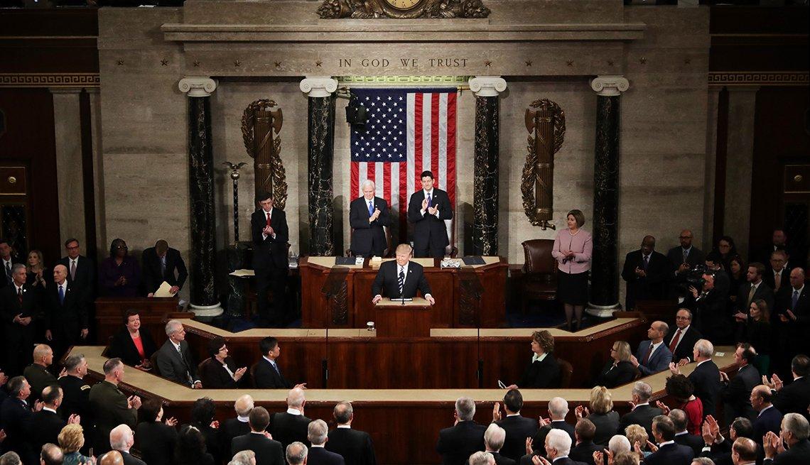 Trump Address Congress, AARP