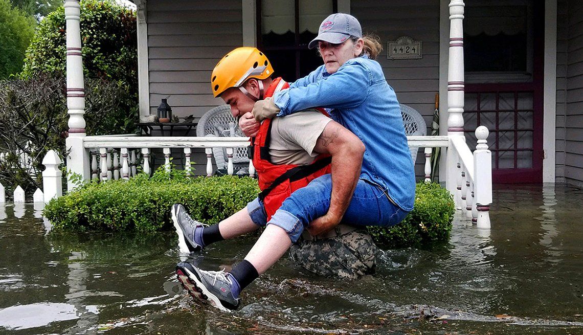 Helping victims of hurricanes - aarp foundation