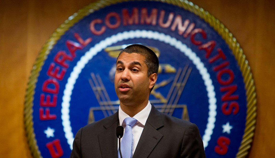 Ajit Pai, chairman of the Federal Communications Commission, Net Neutrality