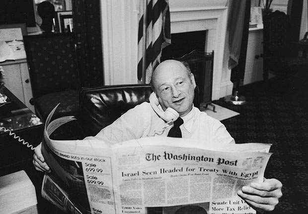 Ed Koch, Obits 2013: Newsmakers (Ted Thai/Time & Life Pictures/Getty Images)