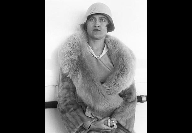 A 1930 photograph of Mrs. Huguette Clark Gower, daughter of the late Sen. William A. Clark of Montana, a copper magnate. (AP)