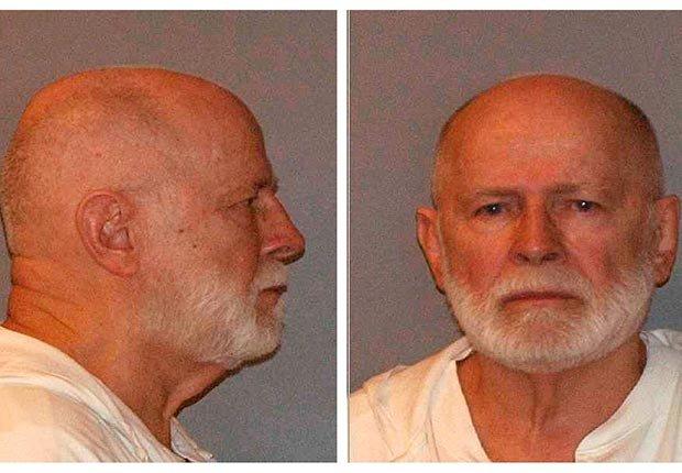 Mug shot of former mob boss and fugitive James