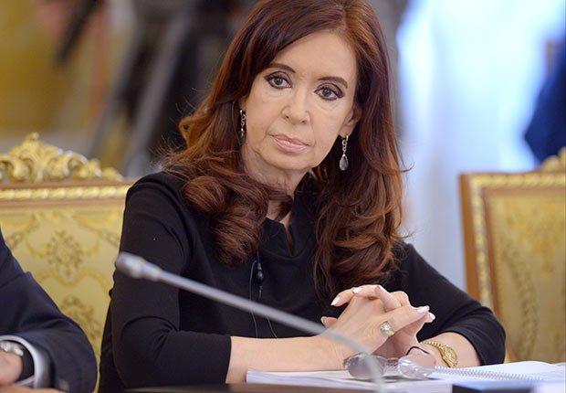 President of Argentina Cristina Fernandez de Kirchner