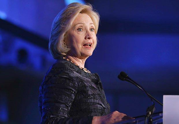 : Former U.S. Secretary of State Hillary Clinton