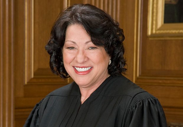 Supreme Court Justice Sonia Sotomayor.