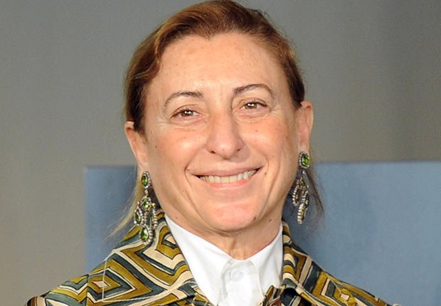 Italian designer Miuccia Prada