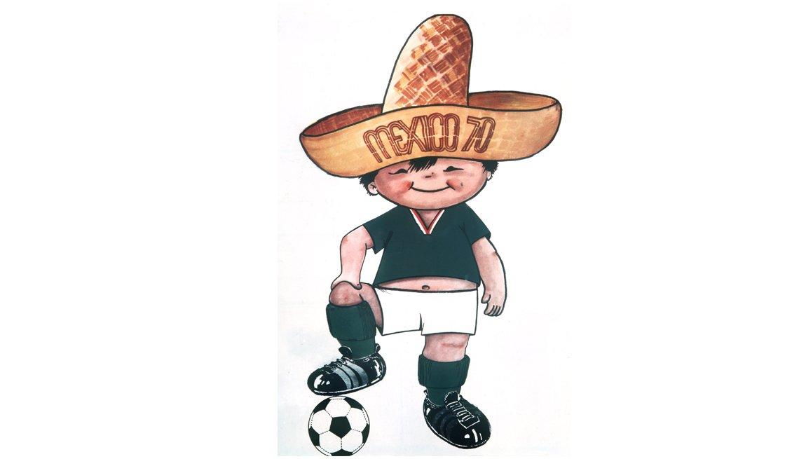 Juanito (México, 1970), Mascotas de los mundiales de fútbol