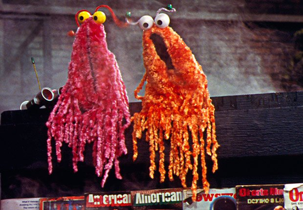 Yip yips from Sesame Street