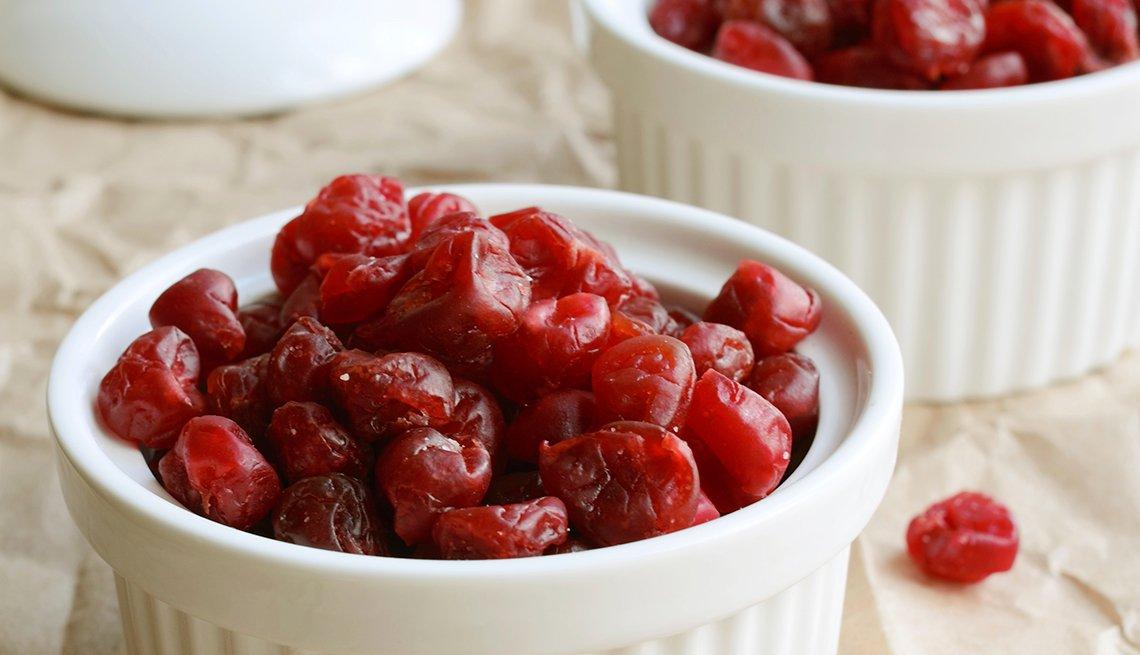 Dried sweet cherries, white ramekin, nutritious, Trends in 2015