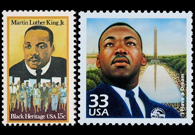 Dr. Martin Luther King Jr. stamps