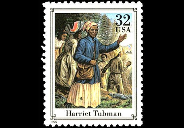 Harriet Tubman stamp