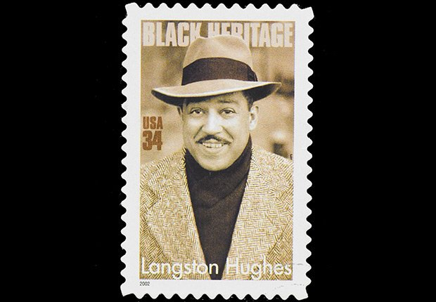Langston Hughes stamps