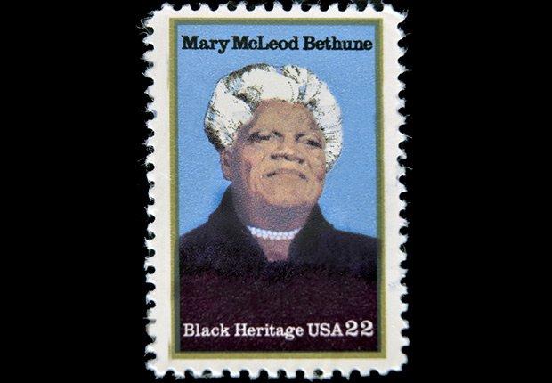 Mary McLeod Bethune stamp