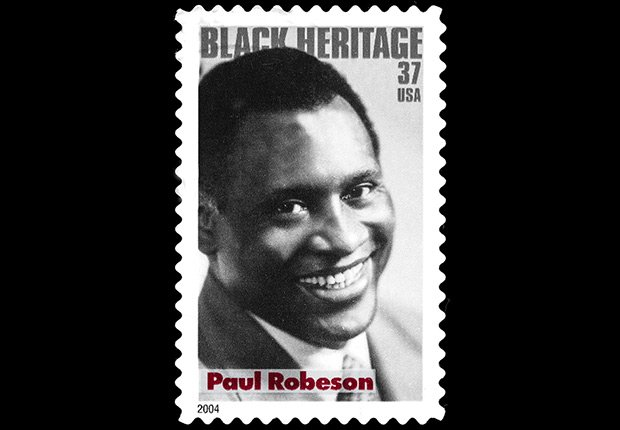 Paul Robeson postage stamp