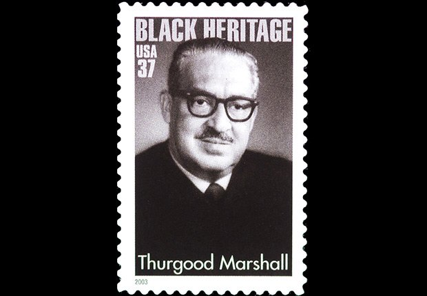 Thurgood Marshall stamp