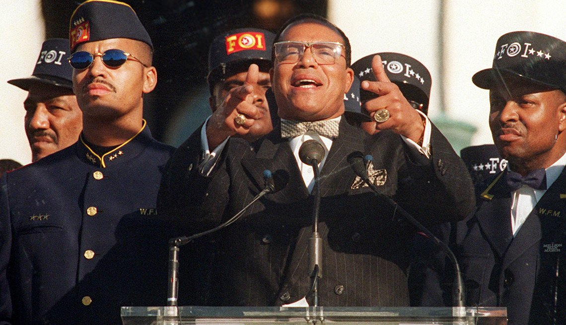 Some supporters initially voiced concern that controversies associated with march leader Louis Farrakhan, head of the Nation of Islam, might overshadow the event's message