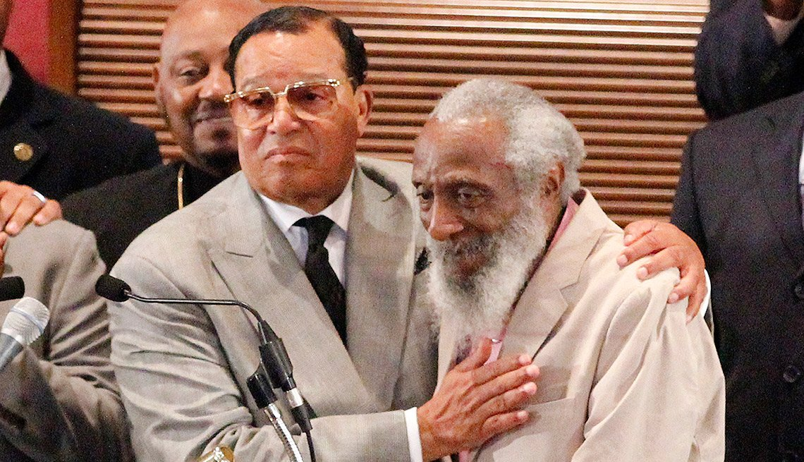"""According to Louis Farrakhan, """"Justice or Else!"""" is the theme of the Million Man March's 20th anniversary event planned for Oct. 10 in Washington, D.C."""