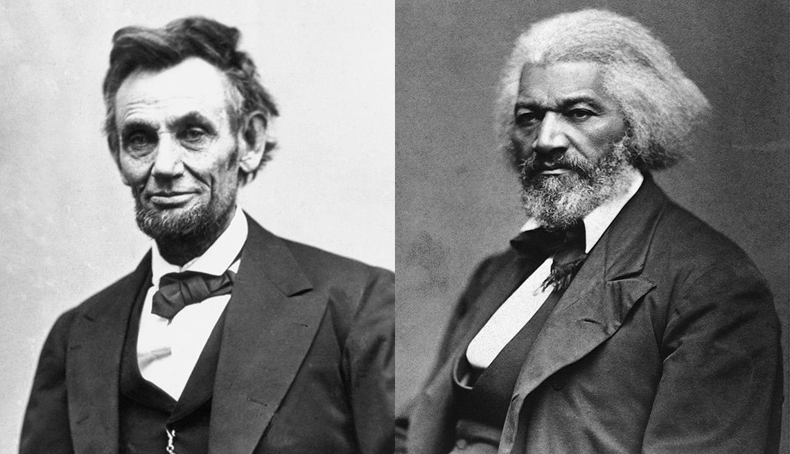 Black History Celebration Turns 90 - Frederick Douglass and Abraham Lincoln.