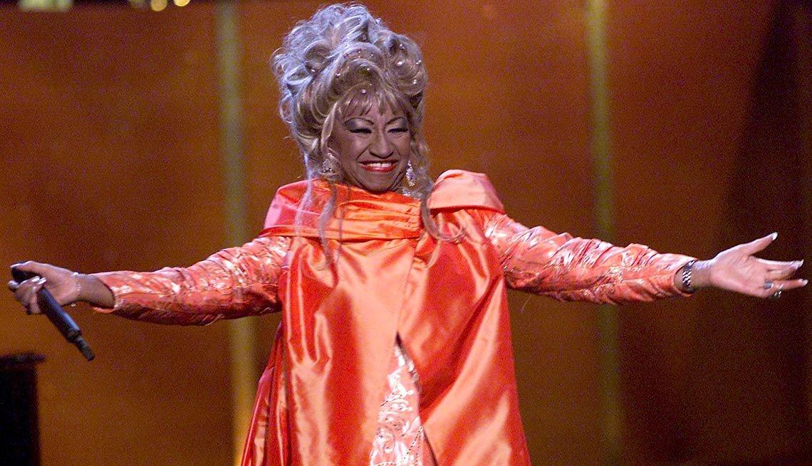 Celia Cruz - Afrolatinos famosos en Estados Unidos