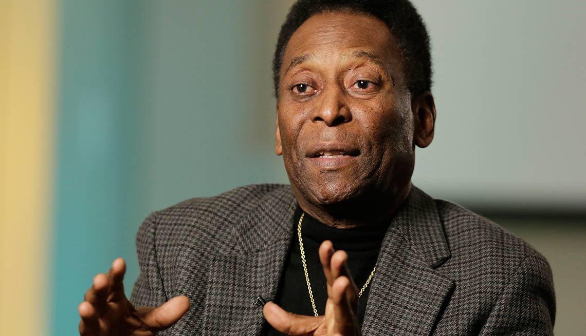Pelé - Afrolatinos famosos en Estados Unidos