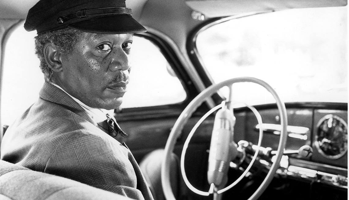8 Celebrities Who Became Fabulously Famous -  Morgan Freeman Driving Miss Daisy